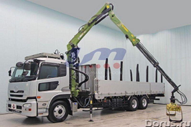 Лесовоз сортиментовоз Nissan Truck с кран манипуляторной установкой Nox - Сельхоз и спецтехника - 20..., фото 1