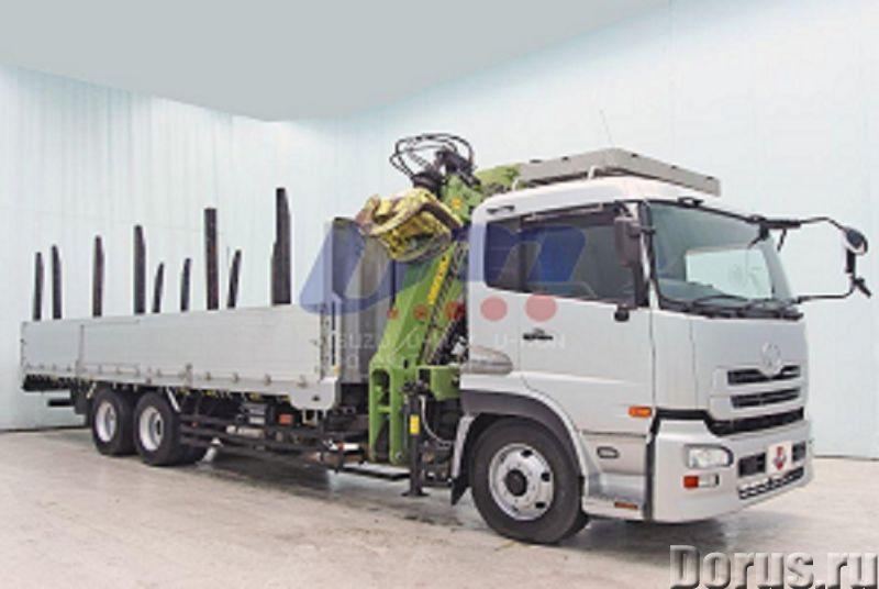Лесовоз сортиментовоз Nissan Truck с кран манипуляторной установкой Nox - Сельхоз и спецтехника - 20..., фото 2