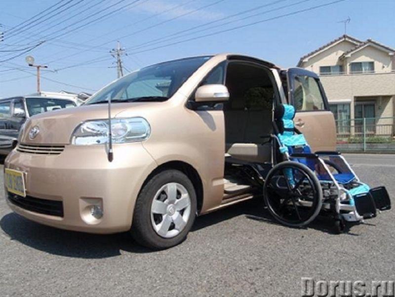 Toyota Porte с выезжающим креслом для пассажира инвалида колясочника - Легковые автомобили - Toyota..., фото 1