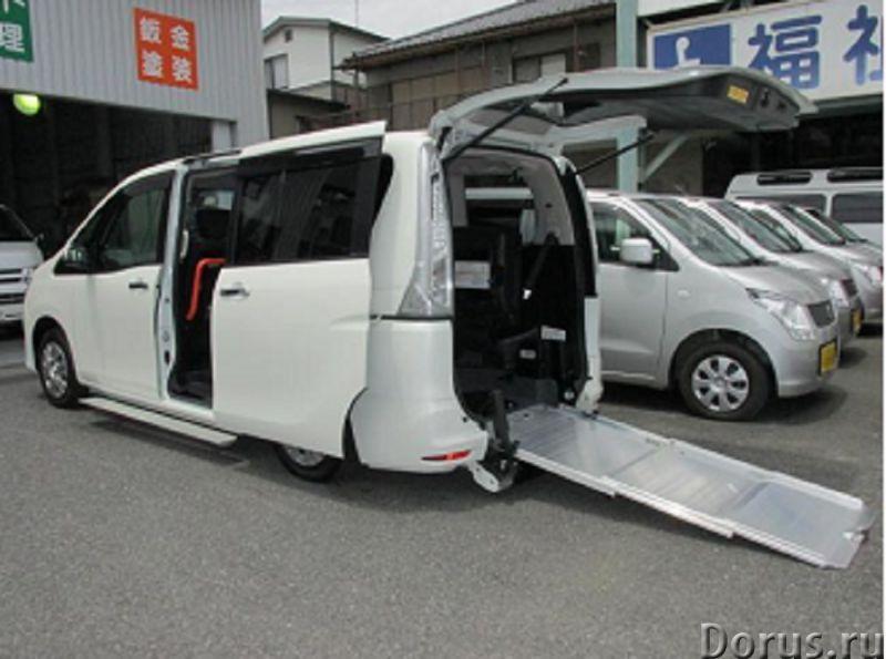 Nissan Serena минивен с пандусом для заезда коляски - Легковые автомобили - Nissan Serena белый микр..., фото 1