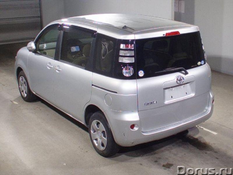 Toyota Sienta - Легковые автомобили - Цвет серебряный, 7-ми местный минивэн 5 дверей, 2011 г., пробе..., фото 2