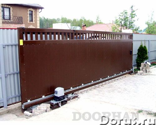 Ворота, автоматика, шлагбаумы, рольставни - Материалы для строительства - Производство откатных воро..., фото 5