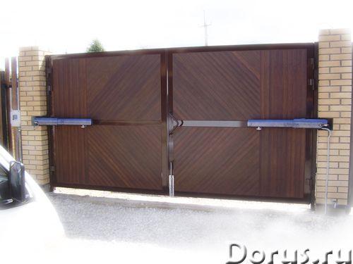 Ворота, автоматика, шлагбаумы, рольставни - Материалы для строительства - Производство откатных воро..., фото 6
