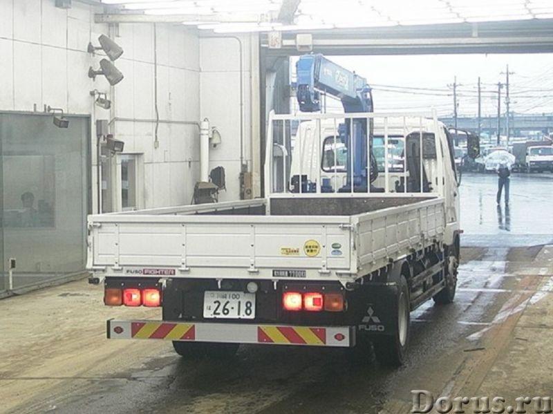 Mitsubishi Fuso бортовой с кму - Грузовые автомобили - Mitsubishi Fuso бортовой с Кран Манипуляторно..., фото 2