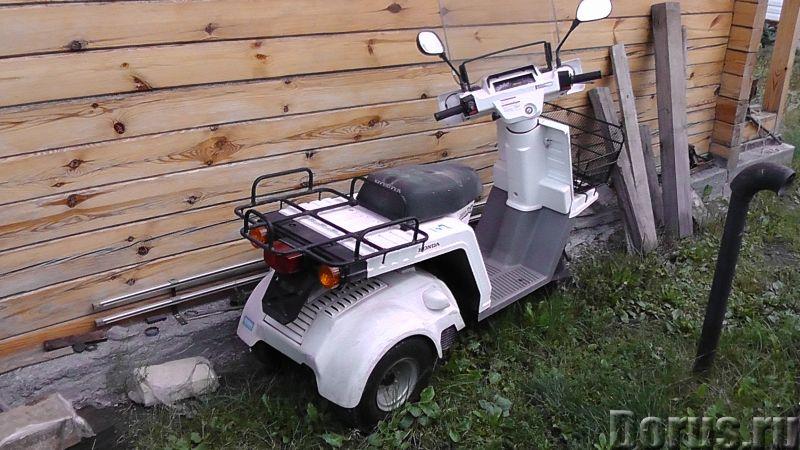 Honda Gyro X отменный грузовой скутер - Мотоциклы, мопеды - Honda Gyro X отменный грузовой скутер 20..., фото 2