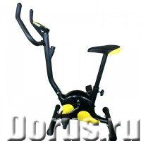 Велотренажер DFC VT-8607 - Спорт товары - Вертикальный механический тренажер с магнитной системой на..., фото 1