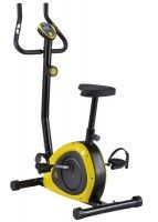 Велотренажер DFC PT-01LB - Спорт товары - Цвет: комбинированный черный/желтый С механической системо..., фото 1