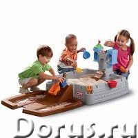 Песочница детская с замком Little Tikes 630965 - Детские товары - Песочница-замок от Little Tikes -..., фото 1