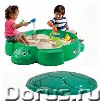 Детская песочница Little Tikes 631566 Черепаха - Детские товары - Песочница Little Tikes – отличный..., фото 1