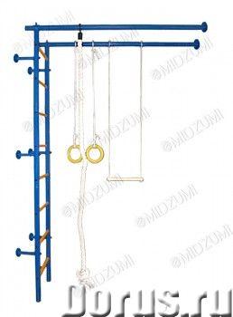 ДСК домашний Midzumi Sati - Спорт товары - Комплектация: — основа - металлическая шведская стенка Г-..., фото 1