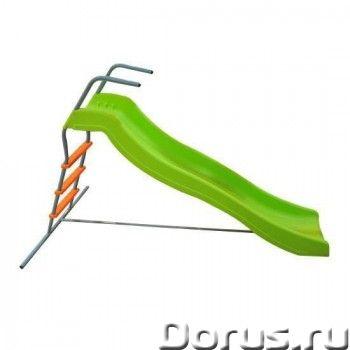 Детская горка DFC артикул: SL-02 волнистая - Детские товары - Эргономичная детская горка - это прекр..., фото 1