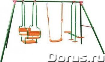 Детский многофунциональный комплекс DFC - Детские товары - Детский уличный игровой комплекс состоит..., фото 1