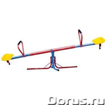 Качели-карусели SEESAW DFC SE-01 - Детские товары - Качалка с дополнительной возможностью вращения (..., фото 1