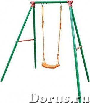 Детские уличные качели DFC SSN-02 одноместные - Детские товары - Регулируемые веревки для качелей си..., фото 1