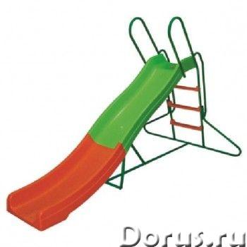 Горка волнистая DFC SL-04 - Детские товары - Горка волнистая DFC с пластиковым желобом 240 см, подхо..., фото 1