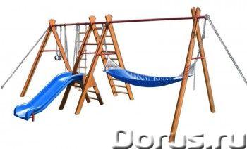 Уличный спортивный комплекс Kampfer Sunny hill - Детские товары - Подходит для установки вне помещен..., фото 1