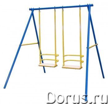 Уличный спортивный комплекс Kampfer Double Space - Детские товары - Состав модели: — А-образная опор..., фото 1