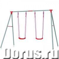Детские качели Kettler Swing двойные - Детские товары - Устойчивая стальная конструкция надежно монт..., фото 1