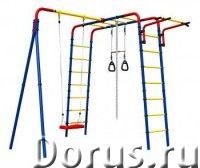 ДСК Дачник Веселая лужайка - Детские товары - Яркий и красочный уличный спортивный комплекс, поможет..., фото 1