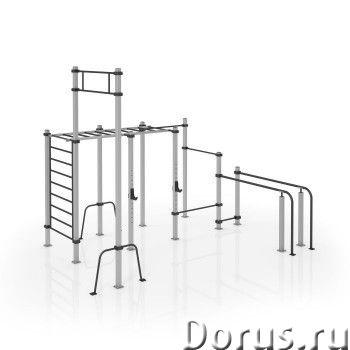 Уличный комплекс 05 KETT-UP для взрослых и подростков для занятий WorkOut - Спорт товары - Сборно-ра..., фото 1
