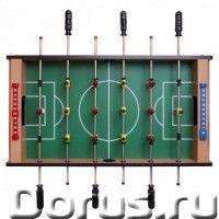 """Игровой - стол футбол""""Junior"""" - Детские товары - Игровой - стол футбол Junior (69х37х24 см, коричнев..., фото 1"""
