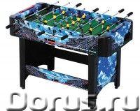 """Игровой стол - футбол """"Arsenal"""" (120x61x81см, синий) - Детские товары - Отличный вариант для проведе..., фото 1"""