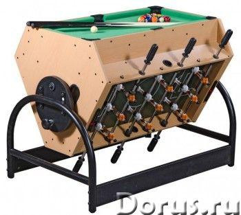 Игровой стол - трансформер «Mini 3-in-1» (футбол, аэрохоккей, бильярд) - Детские товары - Игровой ст..., фото 1