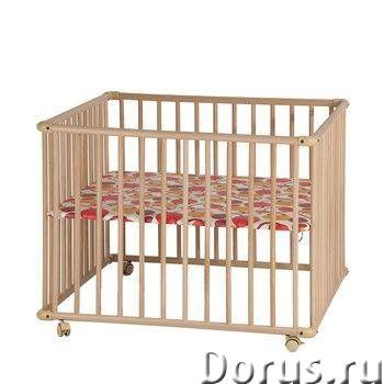 Манеж детский Kettler 4-x секционный Артикул: Н1046-3402 - Мебель для дома - Идеальный вариант много..., фото 1