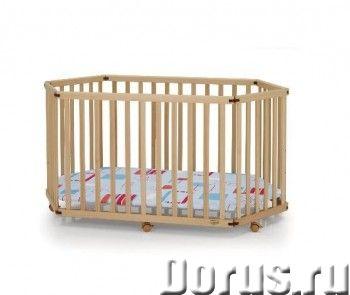 Манеж детский Kettler 6-ти секционный артикул: H1047-3602 - Мебель для дома - Особенности: - Материа..., фото 1