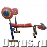 Скамья для жима детская DFC VT-2400 - Детские товары - Если ваш кроха считает, что занятия спортом –..., фото 1