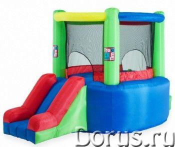 Батут надувной FreeTime Арена с горкой PJ-78319 - Детские товары - Батут FreeTime Арена с горкой PJ-..., фото 1