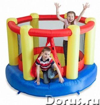 Батут надувной FreeTime Арена с сеткой PJ-78315 - Детские товары - Батут FreeTime Арена с сеткой PJ-..., фото 1