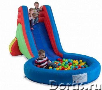 Батут надувной FreeTime Сюрприз с горкой и водой PJ-78324 - Детские товары - Батут надувной FreeTime..., фото 1