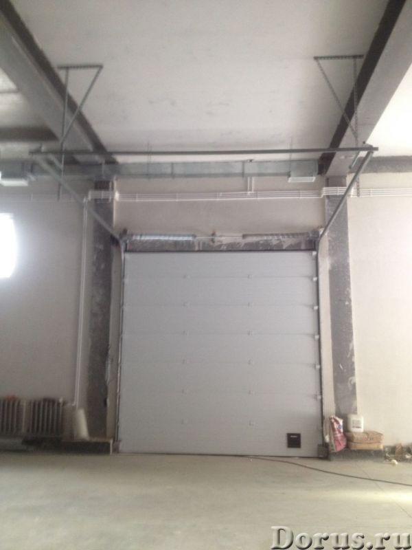 Промышленные ворота для складов ангаров цеха - Материалы для строительства - Производим промышленные..., фото 1