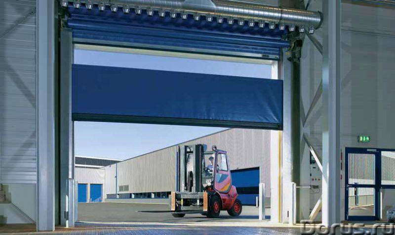 Промышленные ворота для складов ангаров цеха - Материалы для строительства - Производим промышленные..., фото 2