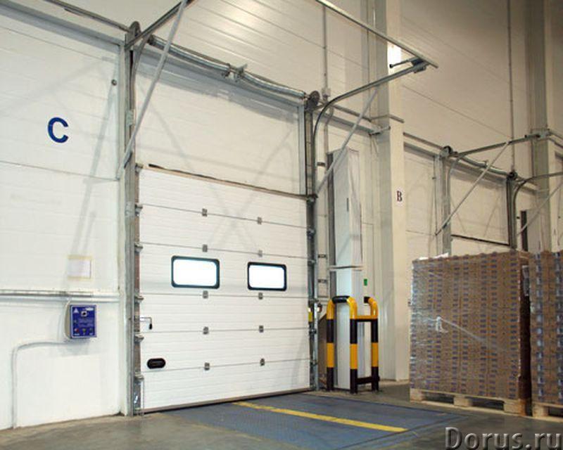 Промышленные ворота для складов ангаров цеха - Материалы для строительства - Производим промышленные..., фото 4