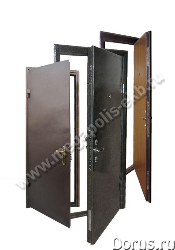 Сейф-двери, ворота - Материалы для строительства - ООО»Мегаполис» Предлагает: - ворота распашные, от..., фото 1