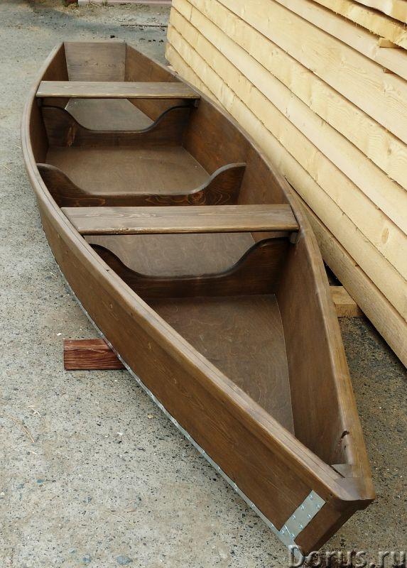 """Лодка деревянная """" Рыбачка"""" - Водный транспорт - Лодка деревянная Рыбачка для охоты и рыбалки. Длина..., фото 1"""