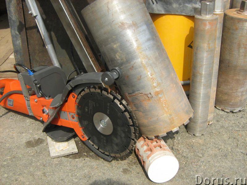 Алмазное бурение отверстий коронками резка проемов диском - Строительные услуги - Алмазное кольцевое..., фото 1