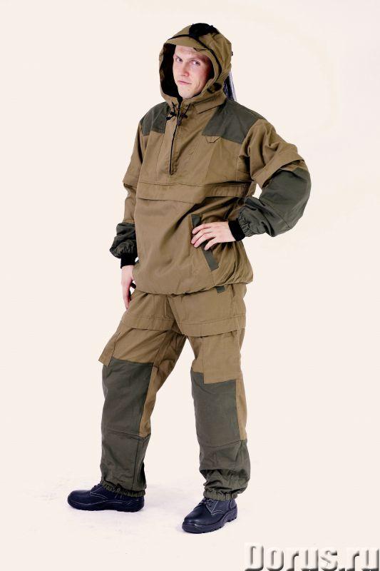 Костюм Противоэнцефалитный с ловушками-складками - Одежда и обувь - Характеристики костюма: -светлая..., фото 1